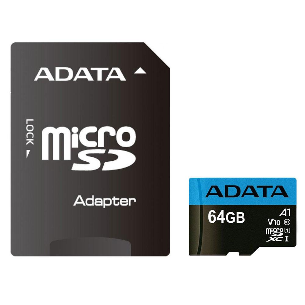 کارت حافظه 64 گیگابایت ای دیتا مدل MicroSD XC