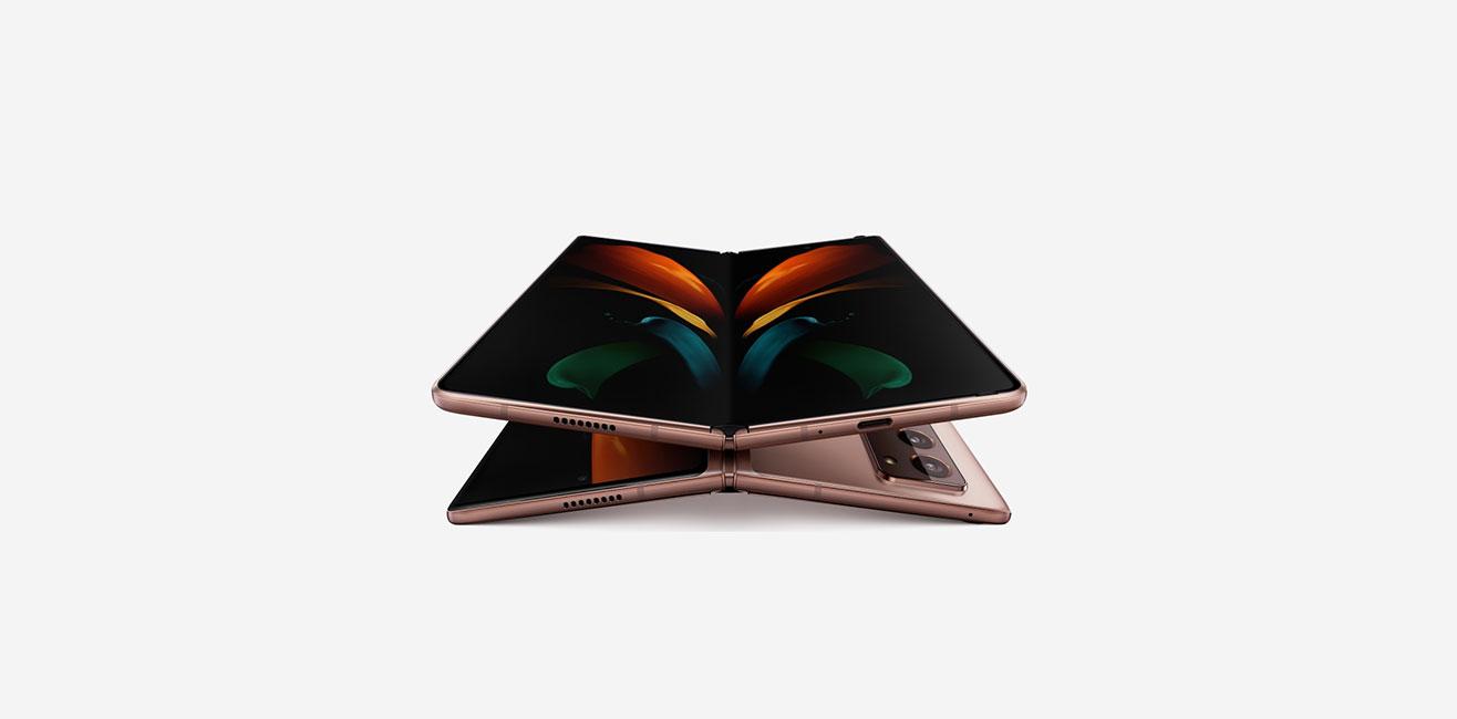 سومین تلاش سامسونگ برای تولید گوشیهای تاشو Samsung Galaxy Z Fold 2