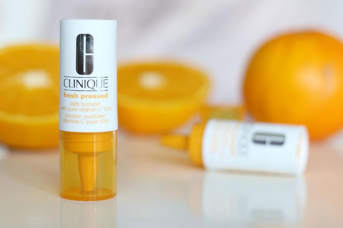 سرم ویتامین سی روشن کننده و ضد لک صورت کلینیک